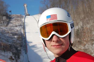 Silvermine Ski Jumping Tournament:  January 21, 2012