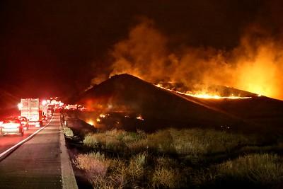 Pacheco 152 Fire San Luis Reservoir / August 1, 2015