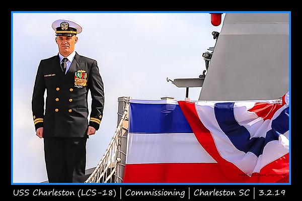 USS CHARLESTON (LCS-18) COMMISSIONING CEREMONY | 3.2.19