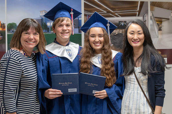 Wimberley High School Graduation, 2018