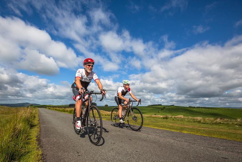 Testing sportive bikes for Bikes Etc