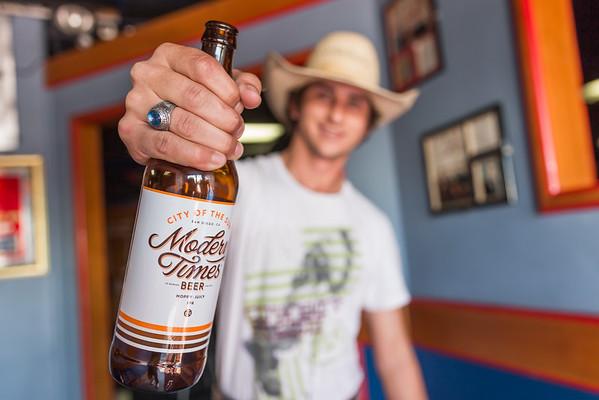 Corey Rickard PRCA Bullrider TWH Craft Beer Promo