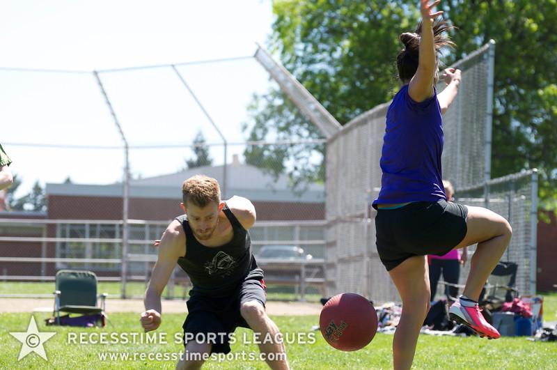 Recesstime Sports Leagues Portland Kickball Spring 2013 Dodgeball Bowling Ping Pong Mushball - 128