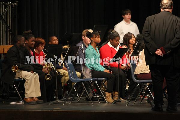 High School Band Christmas 2013
