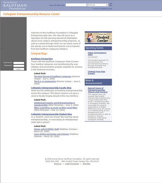 arts entreprneurship page front