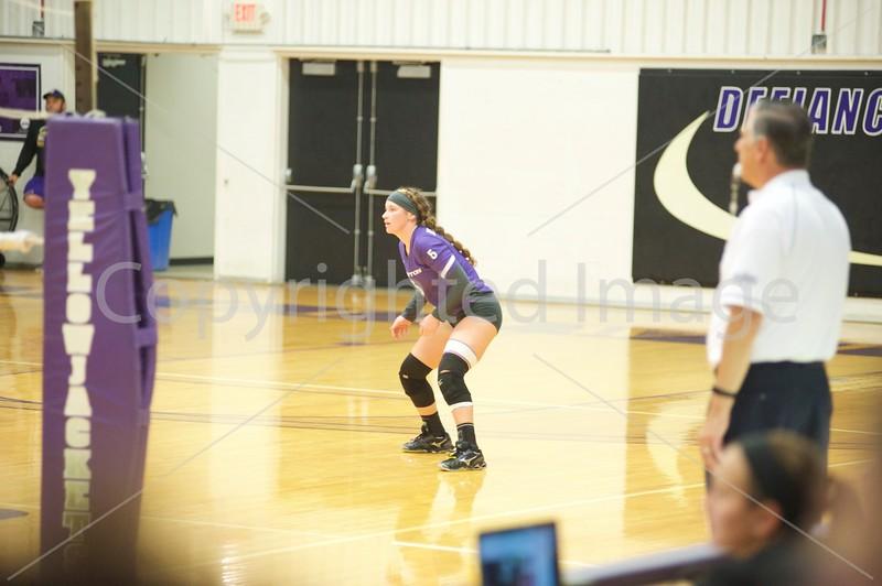 Bluffton Volleyball 101018 Defiance