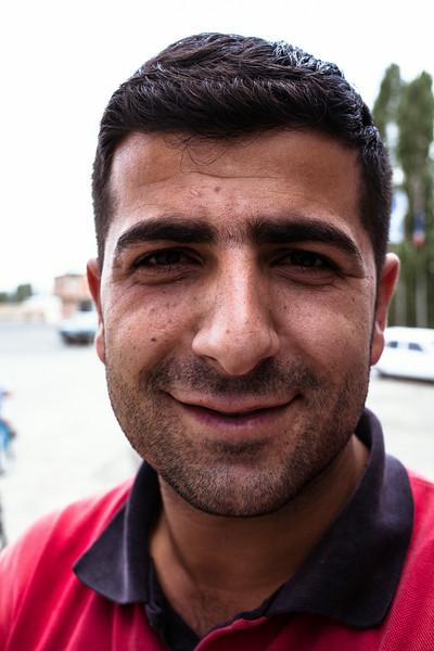 Metin, pump attendant (Turkey)