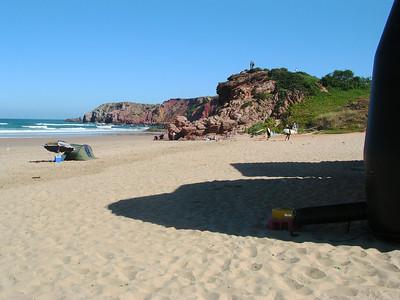 Carrapateira Beach, Portugal Surfs Up by Richard Lazzara