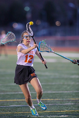 Girls JV Lacrosse vs Edison 3/8/17