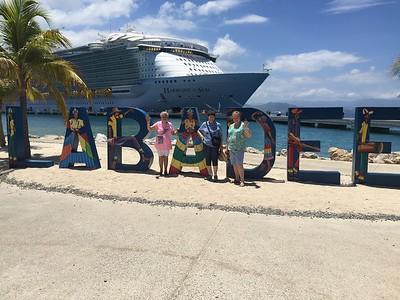 Ron, Diane, Judy, Rachel and Starlette 8/2018