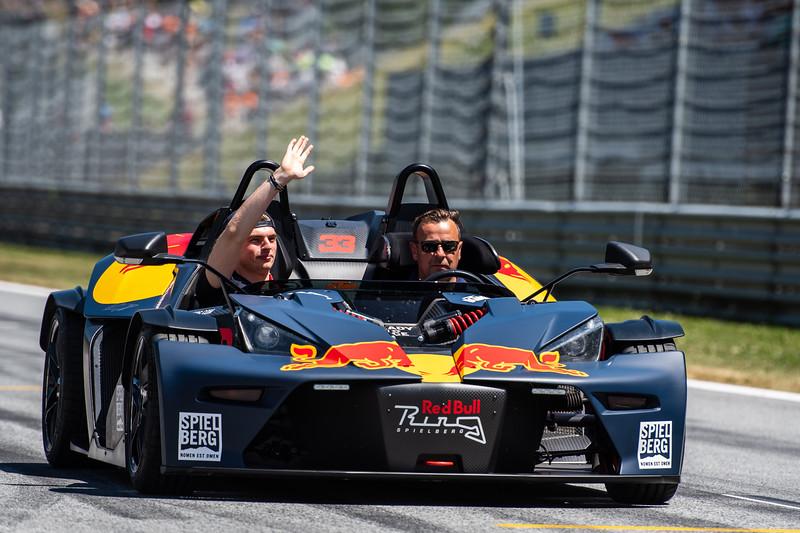 #33 Max Verstappen, Aston Martin Red Bull Racing, Austria, 2019