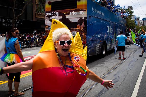 SF Pride Parade 2015
