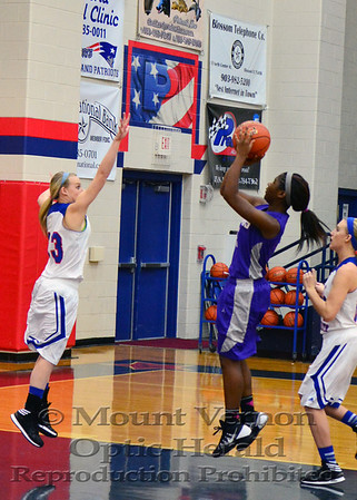 2014 Lady Tigers vs Prairiland Lady Patriots 1-10-14
