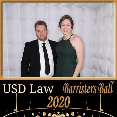 1-18-2020 USD Student Bar Association Barristers' Ball