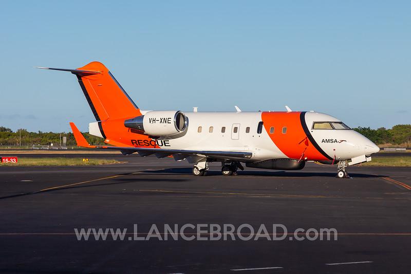 AMSA CL-604 - VH-XNE - CNS