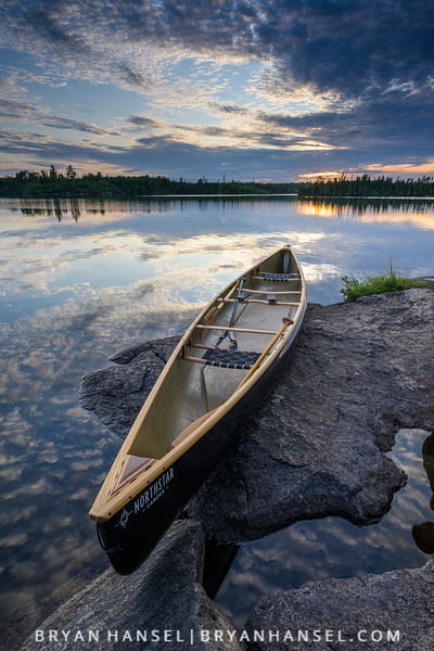 Canoe on the Rocks