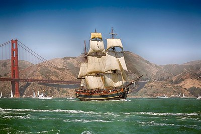 080723 San Francisco Bay Tall Ship Arrival