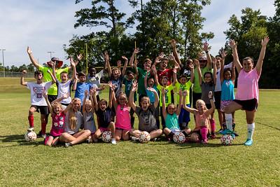 Soccer Camp at Patriots Park 6/21/18