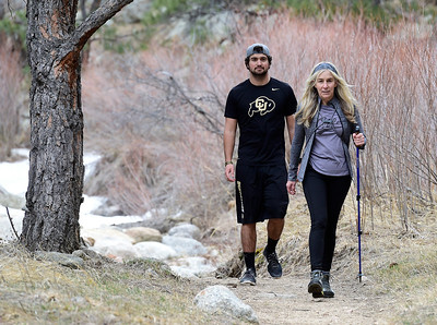 Photos: Hiking on the Anne U. White Trail in Boulder County