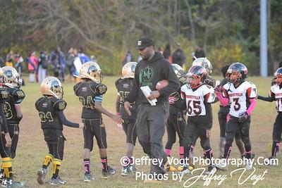 10-11-2014 Montgomery Village Sports Association Chiefs vs Forestville Falcons Cadets, Photos by Jeffrey Vogt Photography