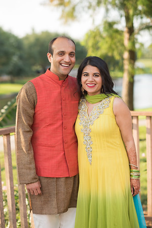 Niti and Ankit - Mendhi