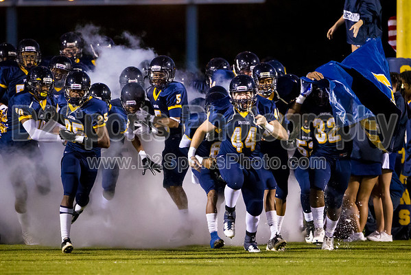 Mt Tabor Spartans vs N Davidson Black Knights Varsity Football 9/30/2011