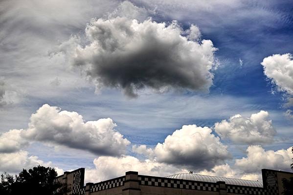 Clouds as  focus