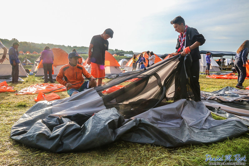 Wrapping Up the World Scout Jamboree