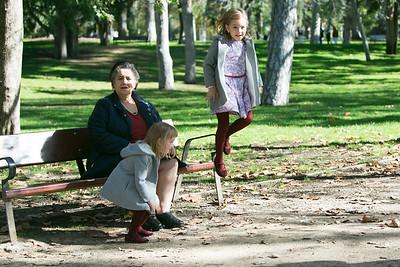 Maria y familia