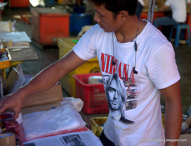 Kuching market day pt 2 - January 2012