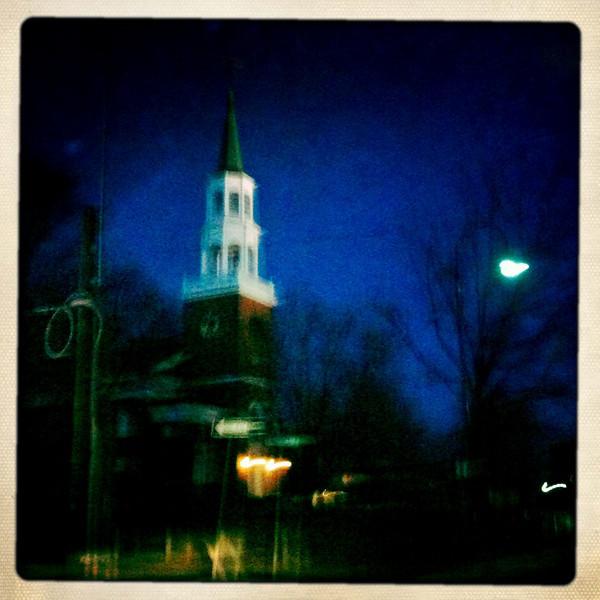 Unitarian Church - Burlington, VT Lens - John S Film - Ina's 1969