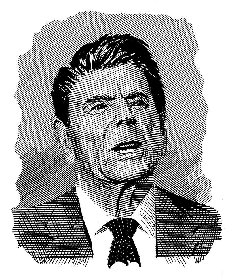 RR; drawn for Time magazine, back in the early 80s.
