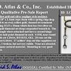 1.80ctw Antique Diamond and Sapphire Negligee Pendant 8