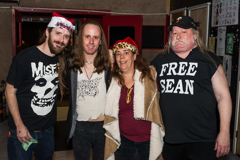 Hell Under The El Welcome Home Sean XXXMas Party - November 25, 2016 - Connie's Ric Rac