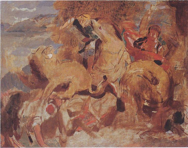 Odile Redon after Delacroix