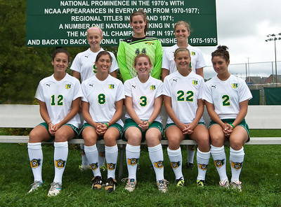 2011 Women's Media Guide Headshots and Team Photo