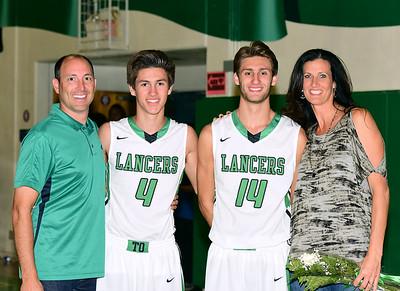 2014-2015 TOHS Lancer Basketball