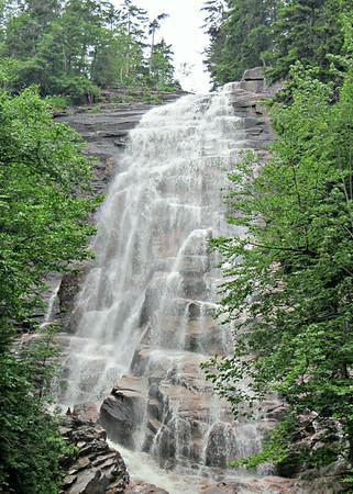 Pine Mtn. Trail; Arethusa Falls (July 4)
