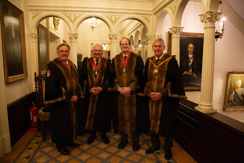 Court Dinner at Vintners Hall