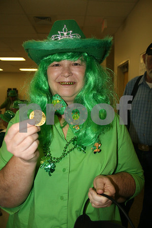 St. Patrick's Day at Senior Center - March 2009
