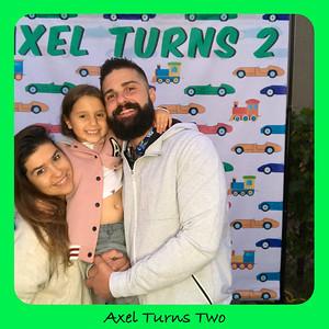 Axel Turns 1