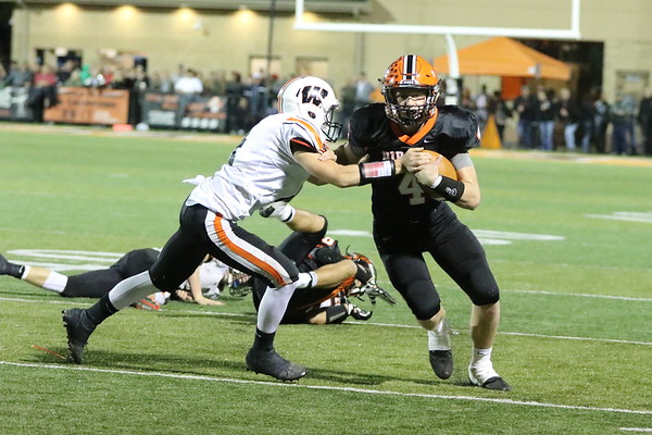 10c Football: West at Wheelersburg 2017: THIRD Quarter
