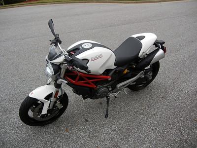Ducati White Plastics