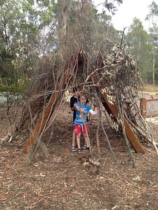 timber tee pee for building
