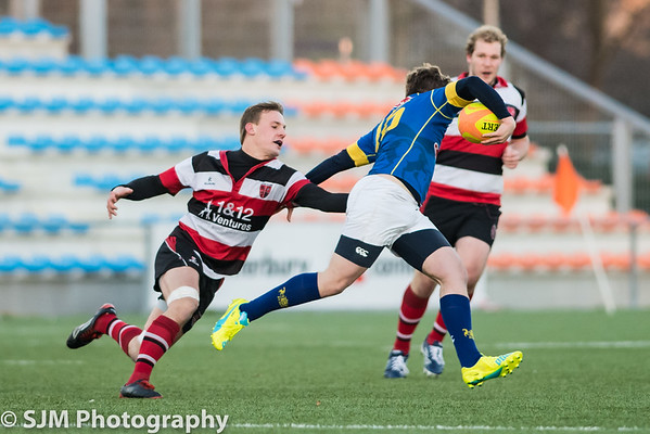 A.S.R.V. Ascrum 2 vs Haagsche Rugby Club 2 - 4 December 2016