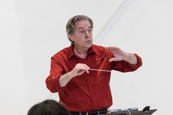 NMF 2018 Mozart, Beethoven Rehearsal
