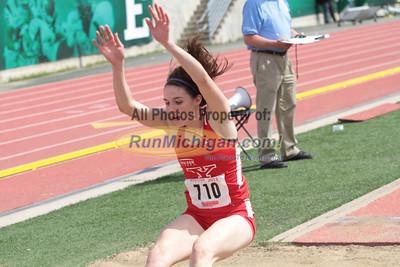 Long Jump Women - 2013 Horizon League Outdoor Championships