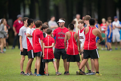 Central Cross Country - McFarland Park 083014