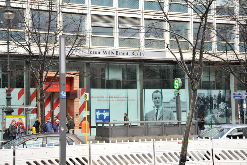 The Forum Willy Brandt on Unter den Linden, Berlin.