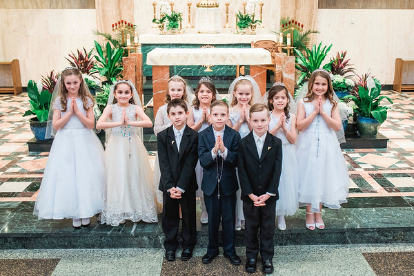 2018 Divine Child First Communions